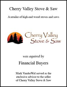 Cherry Valley Stove Saw