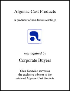 Algonac Cast Products