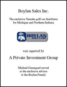 Boylan Sales Inc.