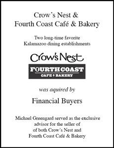 Crow's Nest & Fourth Coast Café & Bakery