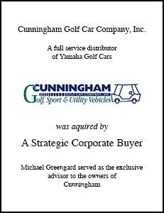 Cunningham Golf Car Company Inc.