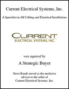 Current Electrical Systems