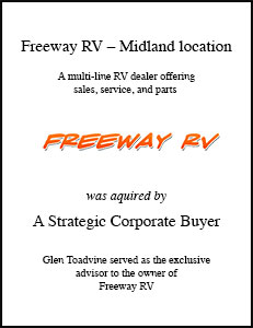 Freeway RV - Midland Location
