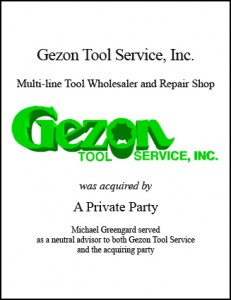 Gezon Tool Service