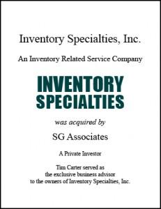 Inventory Specialties