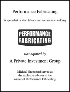 Performance Fabricating