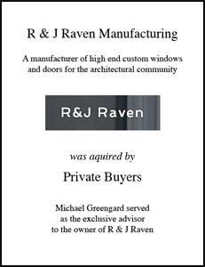 R & J Raven Manufacturing