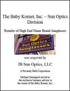 Sun Optics Sunglasses