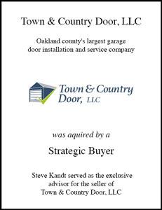 Town & Country Door, LLC