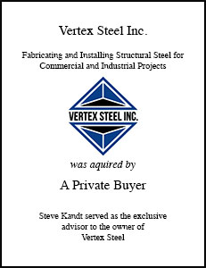 Vertex Steel Inc