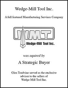 Wedge Mill Tool Inc.